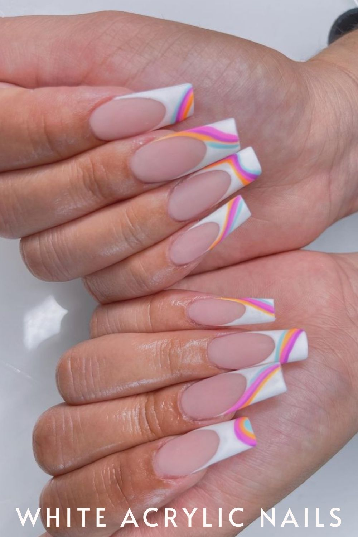 white nail ideas