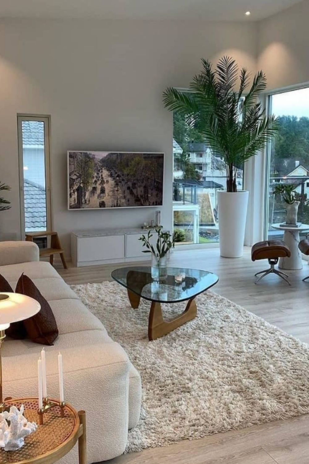 Home decoration of the living room design