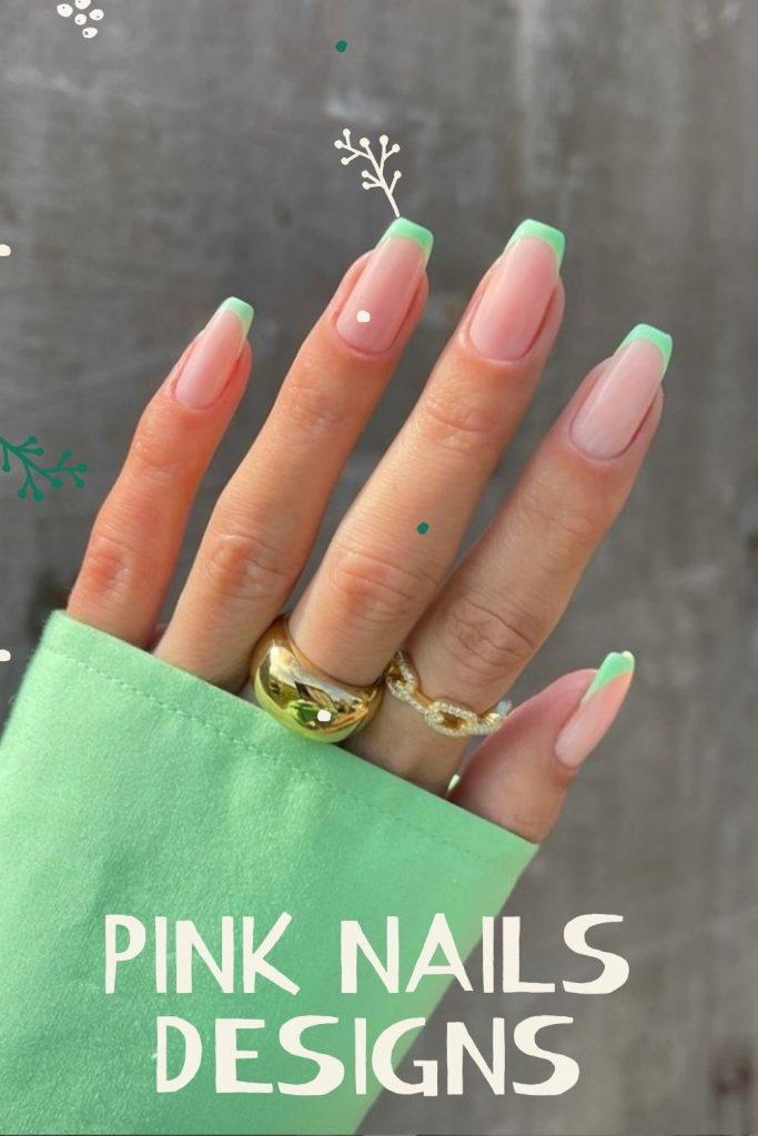 Pink Nails Design For  Summer Nails 2021