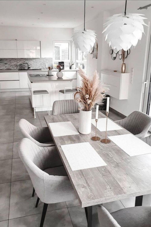 Collocation design of white and high grade grey