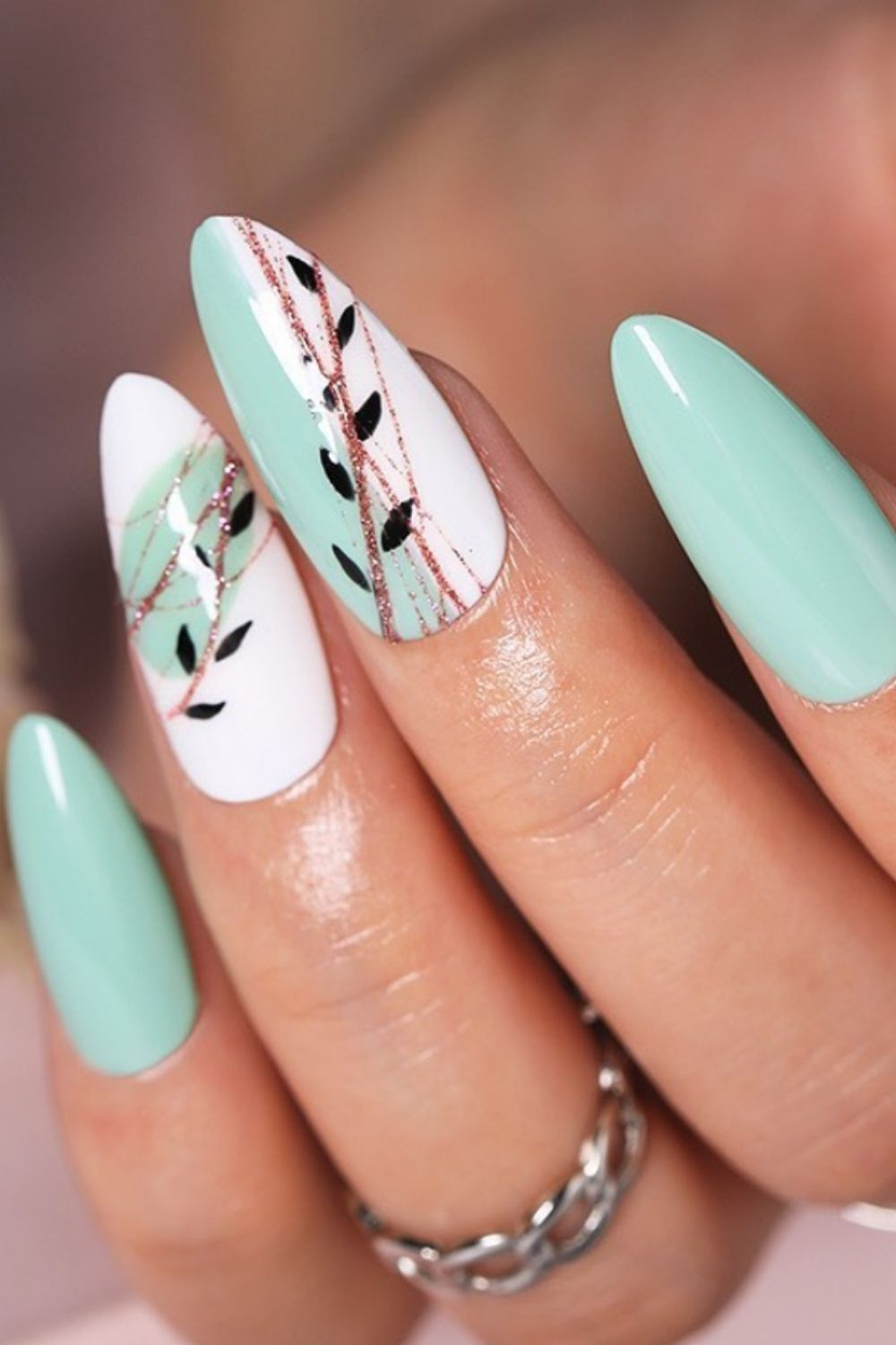 Spring nails for almond nails designs