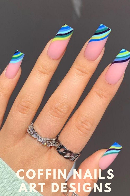 Summer nails acrylic nails