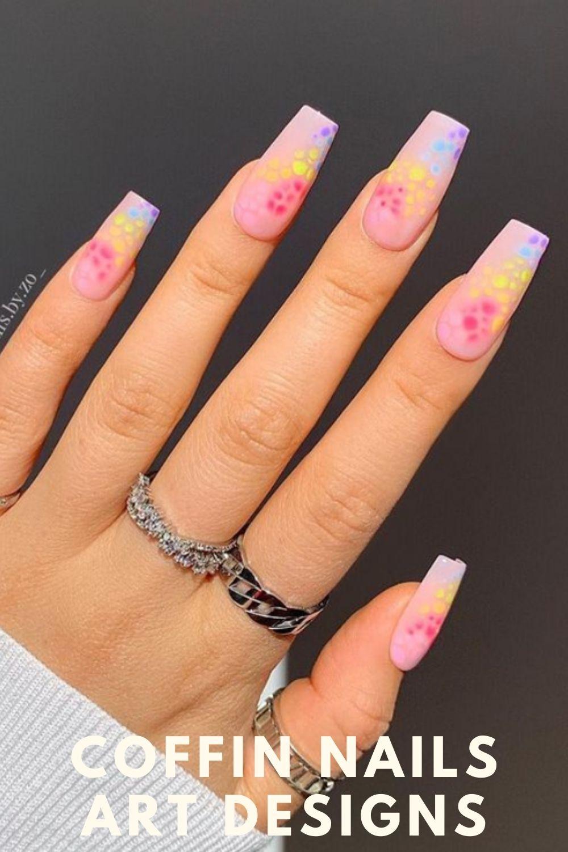 Cute long nails art ideas