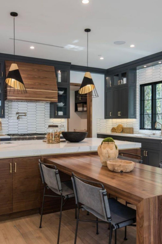 Black kitchen style