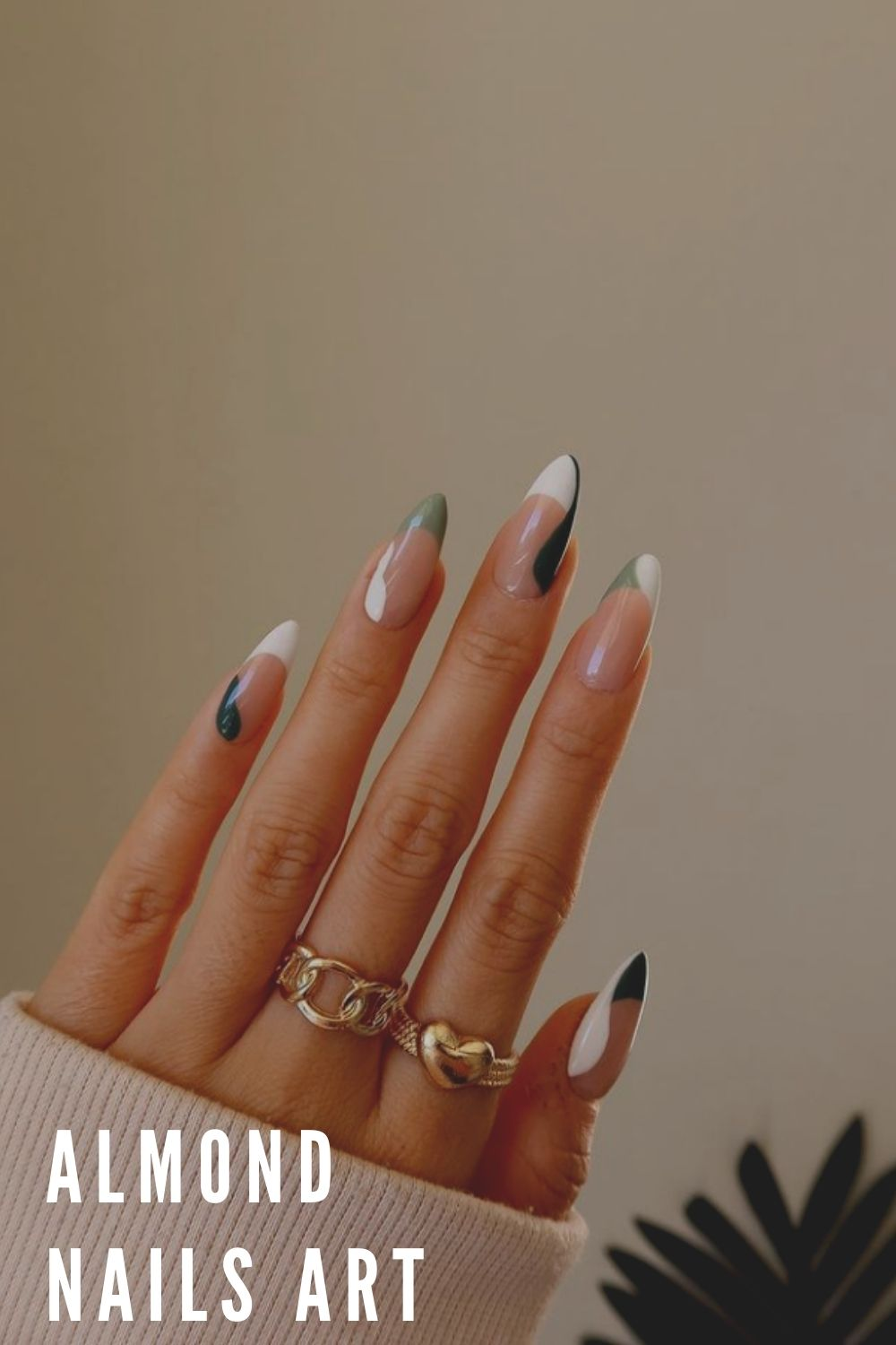 White tip French nails